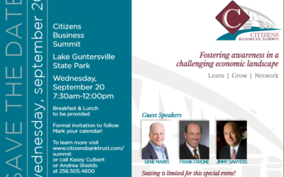 Sawyers to Speak at Citizens Business Summit