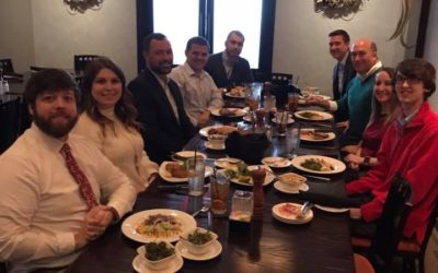 Sawyers & Jacobs celebrates the holidays with a team lunch at Jim's Place Grille