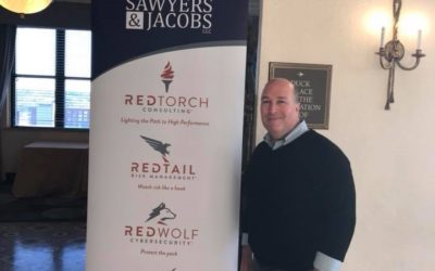 Sawyers & Jacobs Sponsors Reception at the Tennessee Bankers Association Leadership Convention, Young Bankers Division, at The Peabody Memphis, and Jimmy Sawyers Presented His Top Ten Tech Trends