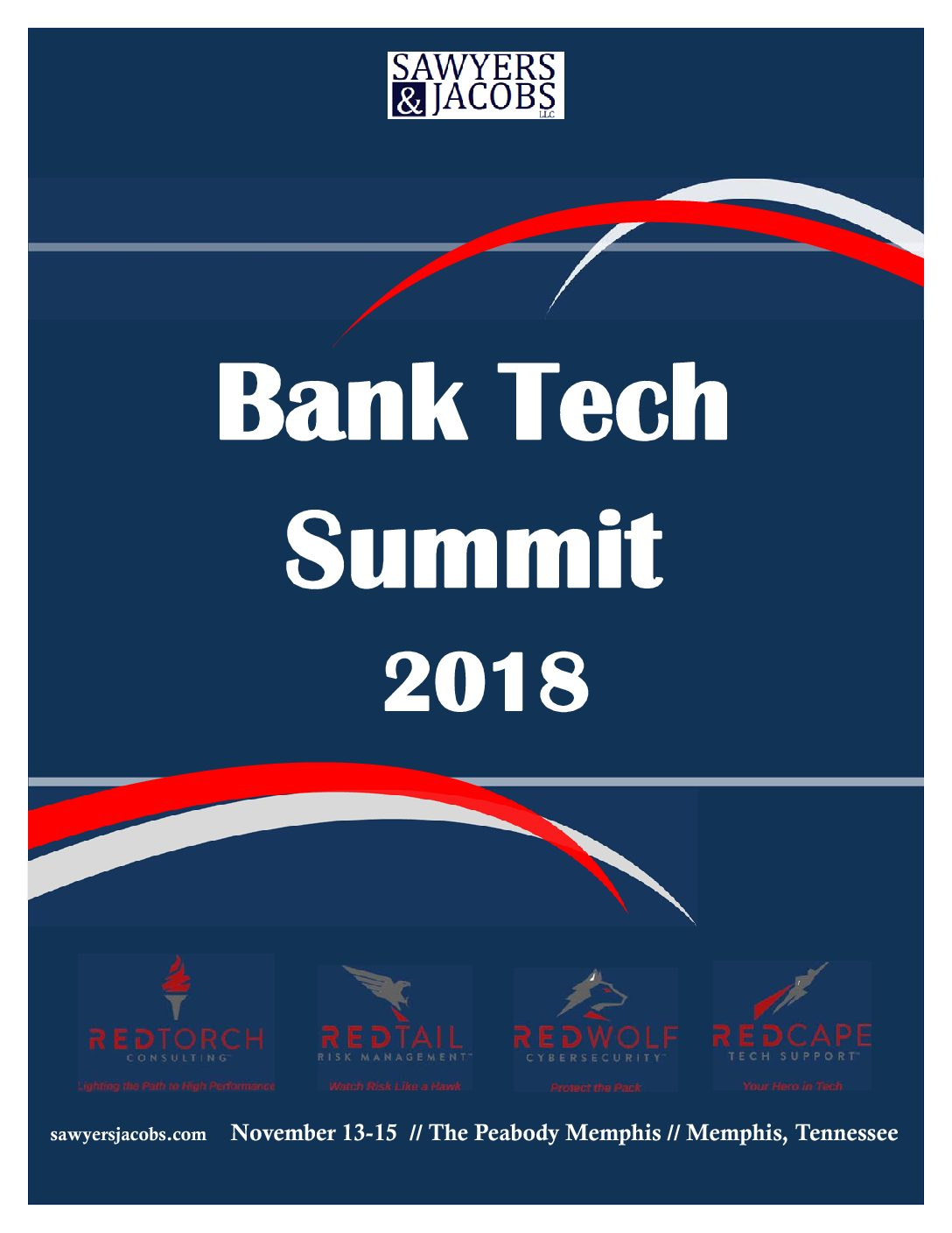 Brochure Released; Six Seats Left; Register by midnight for Bank Tech Summit 2018