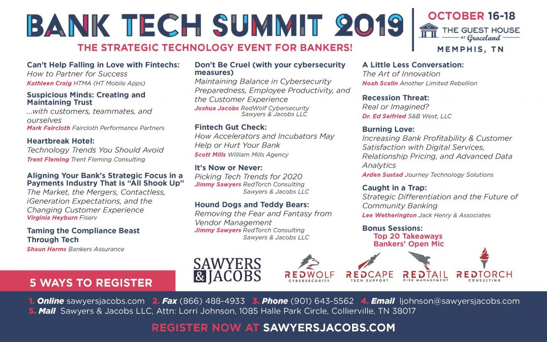 12 Reasons to Attend Bank Tech Summit